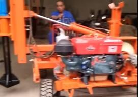 Auger Pile Driver Video
