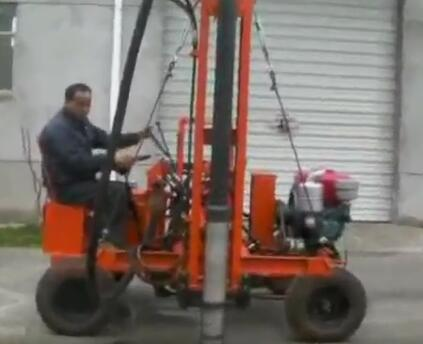 YD Series Guardrail Post Hydraulic Drilling Machine