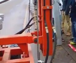 Ethiopia guardrail installation Videos