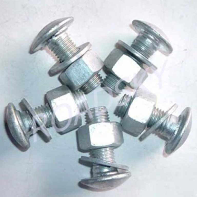 Guardrail Bolts and Nuts