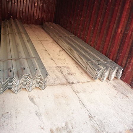 Mauritius Client Purchasing the W Beam Guardrail and C Guardrail Post