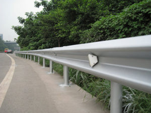 Highway Guardrail System, Not only the Guardrail