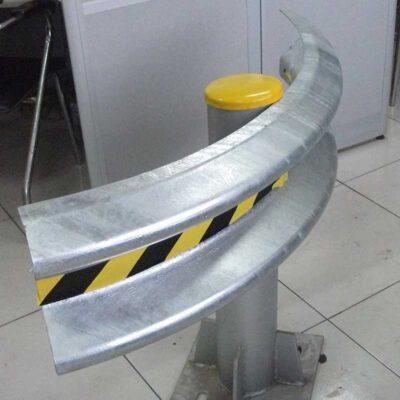 Radius Guardrail Beam