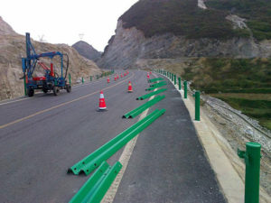 The Best Season for Installment Work of Highway Guardrail