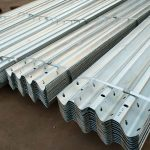 Galvanized w beam guardrail-1